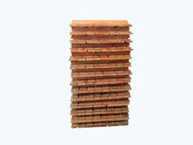 Pallet on the white background ,Material tool. Stock Photo