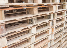 Pallet wood Stock Photography