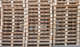 Pallet wood Royalty Free Stock Photos