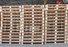 Pallet wood Stock Image