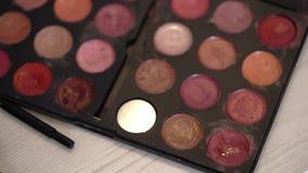 Pallete cosmétique décoratif clips vidéos