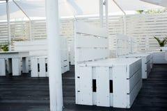 Pallete furniture ideas Royalty Free Stock Photo