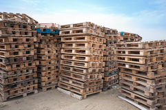 Pallets. Royalty Free Stock Photo