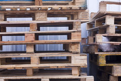 Pallets Royalty Free Stock Images