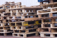 Pallets Stock Image