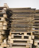 Pallets Royalty-vrije Stock Afbeelding