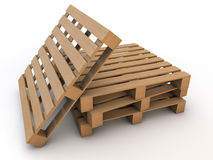 Pallets Royalty Free Stock Photo