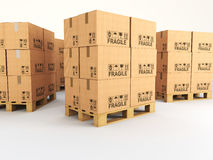 Pallets Stock Photos