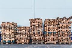 pallets Royalty-vrije Stock Foto