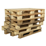 Pallets Isolated Royalty Free Stock Photography