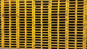 Pallets stack background Stock Image