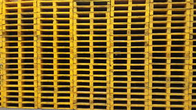 Pallets stacks Royalty Free Stock Photography
