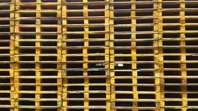Pallets stacks Royalty Free Stock Photo