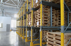 Pallets Royalty Free Stock Image