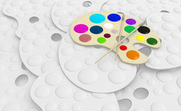 Pallette Stock Photo