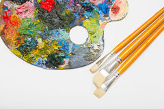 Pallette Royalty Free Stock Image