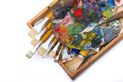 Pallette Royalty Free Stock Images