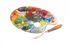 Pallette Royalty Free Stock Photos