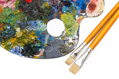 Pallette Royalty Free Stock Photography
