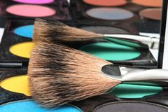 Pallette for make-up Royalty Free Stock Photos