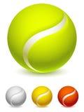 Pallina da tennis Fotografie Stock