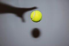 Pallina da tennis Immagine Stock Libera da Diritti