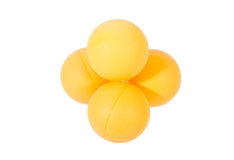 Pallina da tennis della Tabella immagini stock