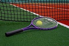Pallina da tennis & Racket-3 Fotografie Stock