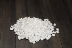 Palline bianche della schiuma Fotografia Stock Libera da Diritti