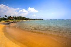 Palliyawatta海滩,斯里兰卡 库存照片