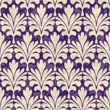 Pallm Damask Royalty Free Stock Images