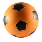 Pallone arancio e nero Fotografie Stock Libere da Diritti