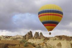 Pallone in Cappadocia Fotografia Stock