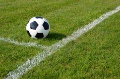Pallone da calcio Fotografia Stock Libera da Diritti