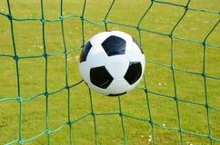 Pallone da calcio Immagini Stock Libere da Diritti