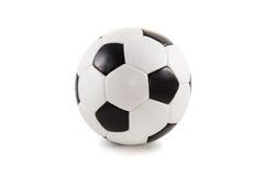 Pallone da calcio classico Fotografie Stock Libere da Diritti