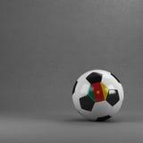 Pallone da calcio del Camerun Fotografie Stock