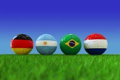 Pallone da calcio della coppa del Mondo Fotografia Stock