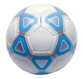Pallone da calcio tagliato Fotografia Stock Libera da Diritti