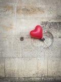 Pallone del cuore a Parigi Fotografie Stock Libere da Diritti