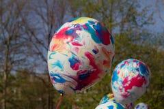 Pallone dell'elio Fotografie Stock Libere da Diritti