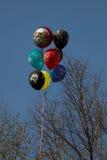 Pallone dell'elio Fotografie Stock