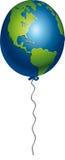 Pallone della terra Immagini Stock Libere da Diritti