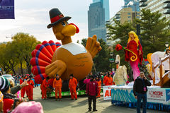 Pallone della Turchia nella parata di Philly Fotografie Stock