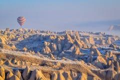 Pallone di Cappadocia Fotografia Stock
