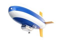 Pallone di dirigibile o del dirigibile, rappresentazione 3D royalty illustrazione gratis
