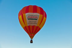 Pallone di Krispy Kreme Fotografie Stock