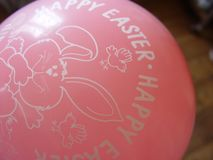 Pallone di Pasqua Fotografia Stock Libera da Diritti