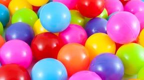 Pallone di varietà e variopinto Immagine Stock Libera da Diritti
