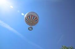Pallone famoso di Bournemouth sotto un cielo blu di estate Fotografie Stock Libere da Diritti